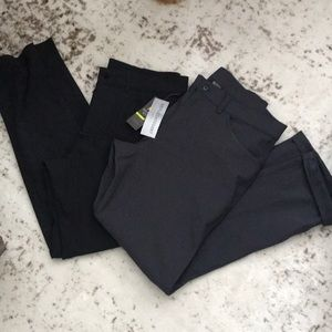 Two pairs of Men's ON active pants